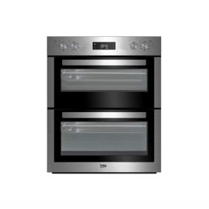 Beko BTF26300 72cm Double Fan Oven – Stainless Steel