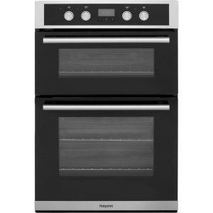 Hotpoint DD2844CIX Built in Double Oven  Stainless Steel 8 function