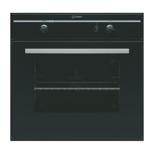 Indesit FGIMKBK GAS Single Oven – Black