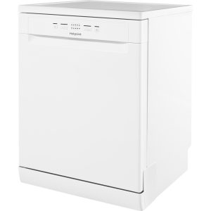 Hotpoint HFC2B19WH 13 Place Setting A+ Freestanding Dishwasher