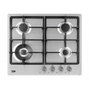 Beko HIMW64225SX 4 Ring Stainless Steel Gas Hob