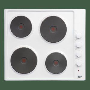 Beko HIZE64101W Solid Plate Hob – White