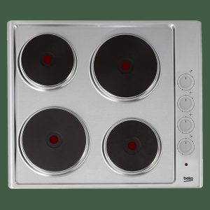 Beko HIZE64101X Solid Plate Hob – Stainless Steel