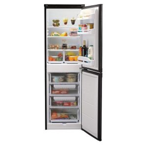 Indesit IBD5517B1 50/50 Fridge Freezer Black – 175 x 55cm