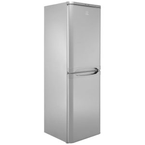 Indeist IBD5517SUK1 50/50 Fridge Freezer Silver 175 x 55cm