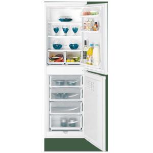 Indesit IBD5517 Static Fridge Freezer 174 Tall white