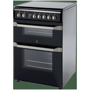 Indesit ID60C2K 60cm Freestanding Cooker – Black