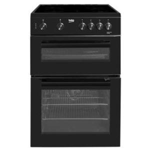 Beko KTC611K 60cm Cooker Twin Cavity – Black