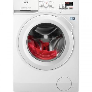 AEG L6FBK841N 8kg 1400 Spin 5yr Warranty Washing Machine – White