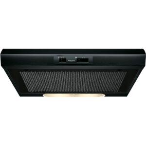 Hotpoint APPPSLMO65FLSK 60cm Visor Cooker Hood Black