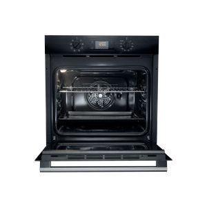 Hotpoint SA2540HBL 9 Function 66L Single Oven – Black